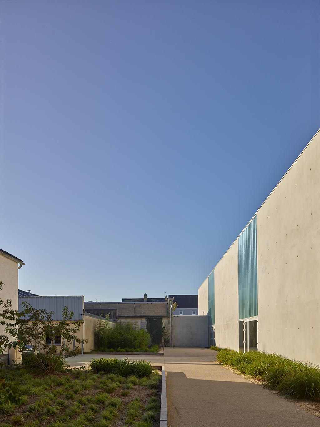 Cherbourg 04 - Salle de gymnastique – Cherbourg