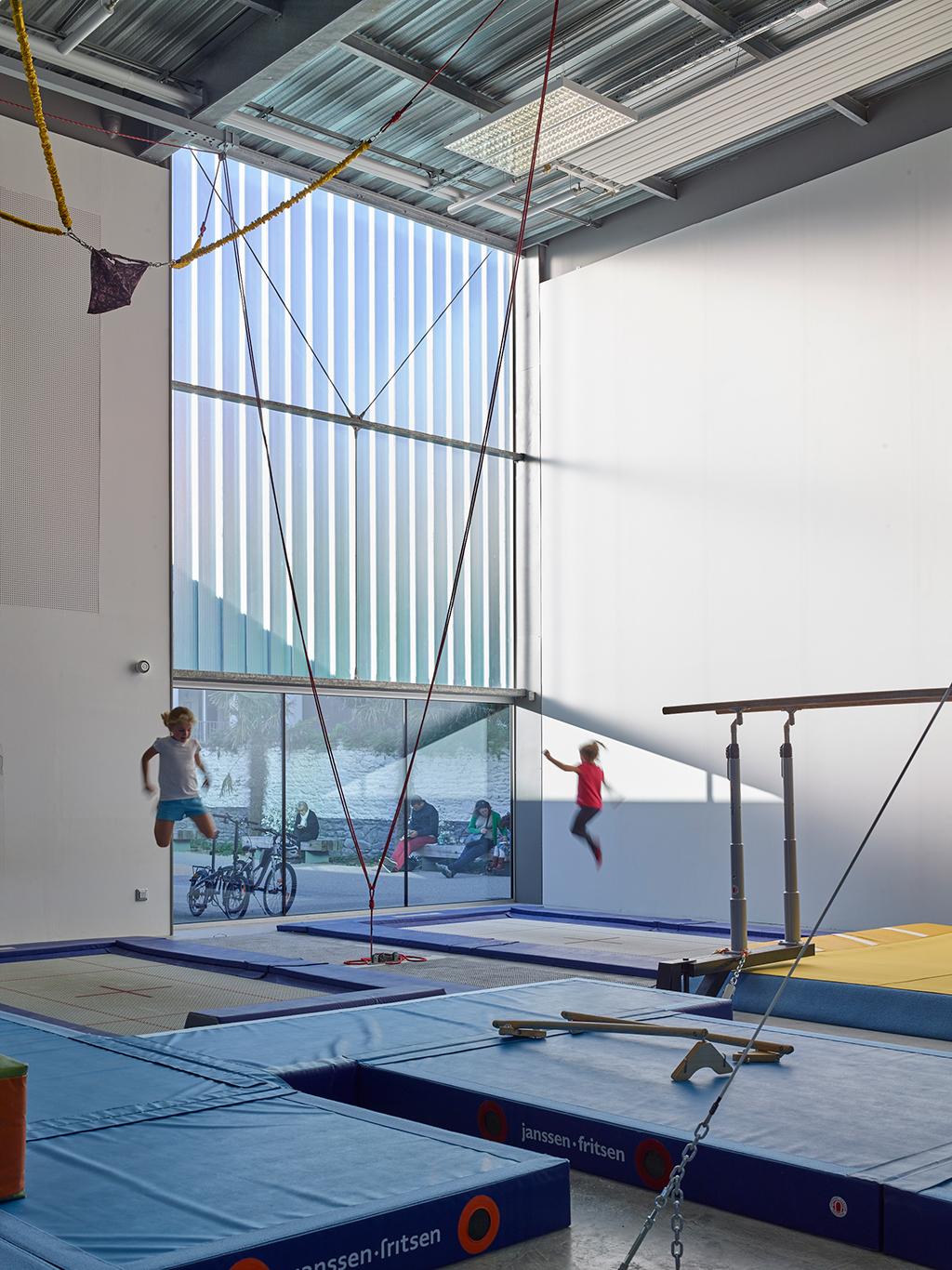 Cherbourg 08 - Salle de gymnastique – Cherbourg
