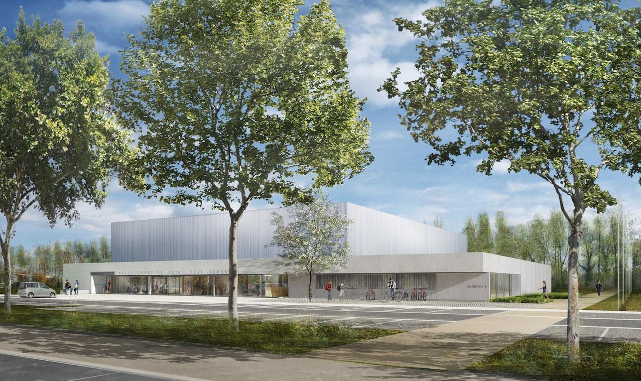 HS Caen 01 - Halle sportive – Caen