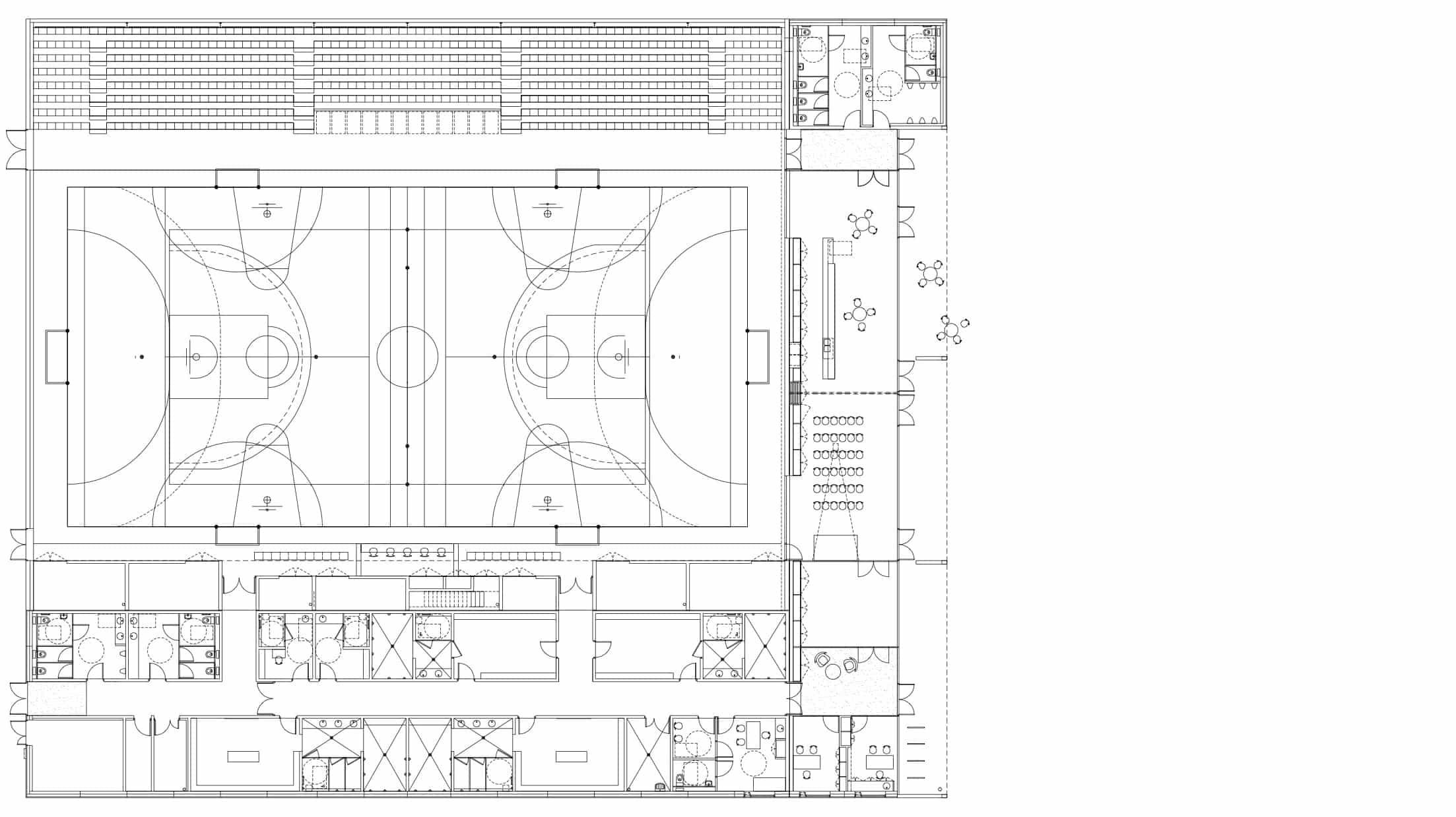 PLAN - Salle de compétition pluri-sport – Colombelles