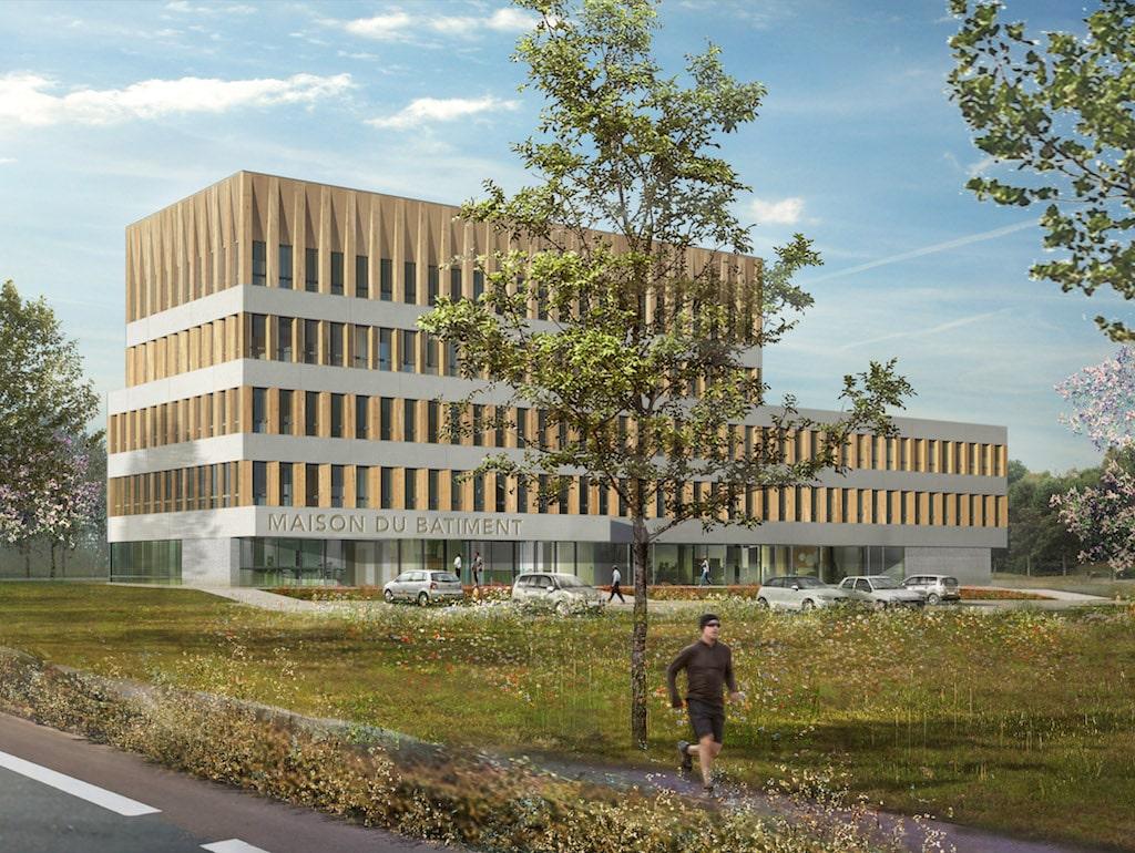 MBTP Caen 02 - Maison du bâtiment et des travaux publics – Caen