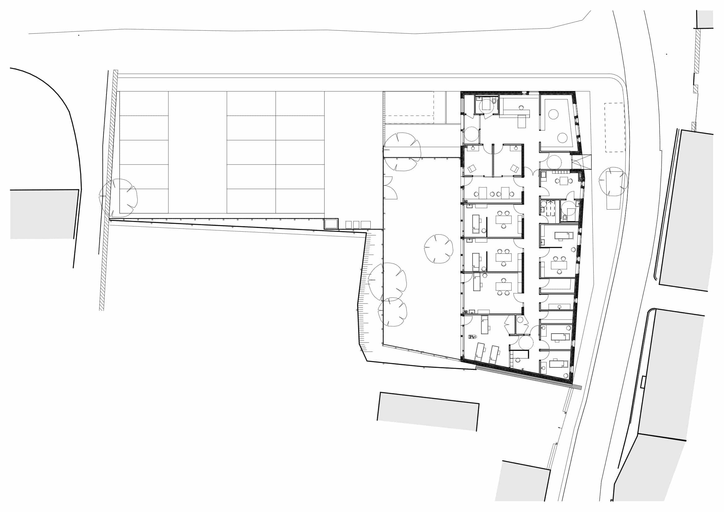 0 plan - Maison pluridisciplinaire de santé – Saint-Clair-sur-l'Elle