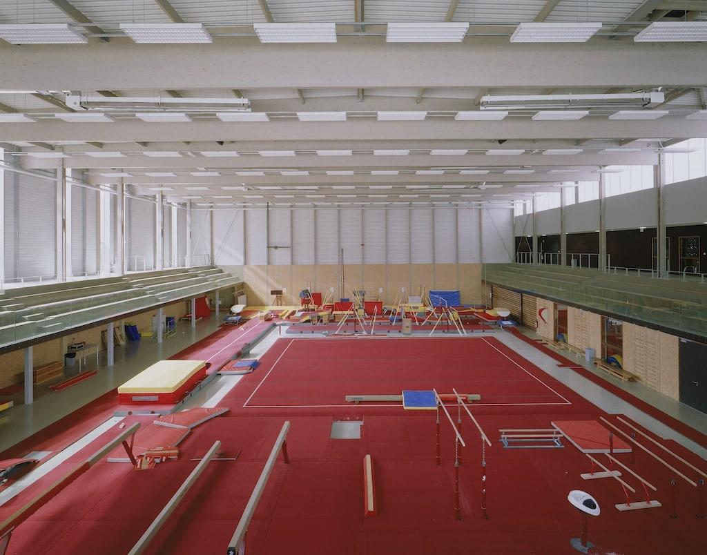 Alencon 04 - Salle de gymnastique et salle de tennis de table – Alençon