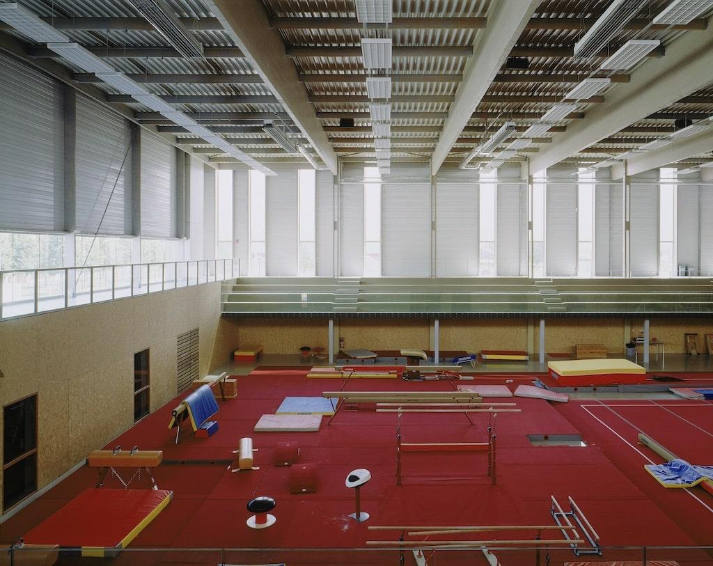Alencon 05 - Salle de gymnastique et salle de tennis de table – Alençon