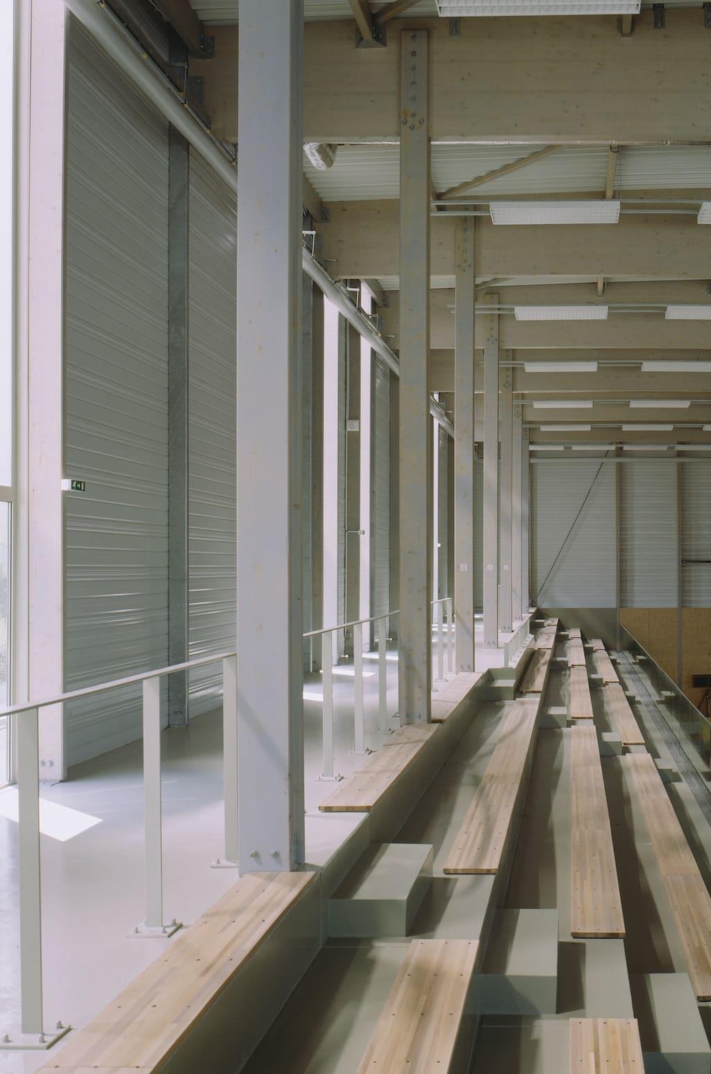 Alencon 06 - Salle de gymnastique et salle de tennis de table – Alençon