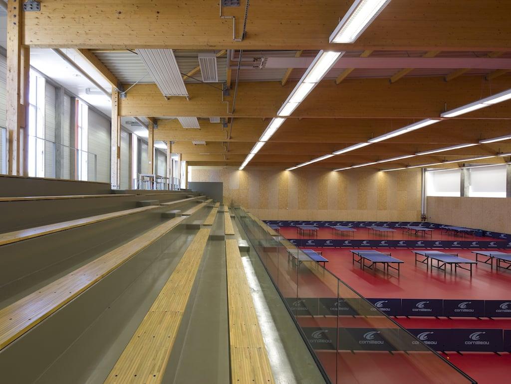 Alencon 07 - Salle de gymnastique et salle de tennis de table – Alençon