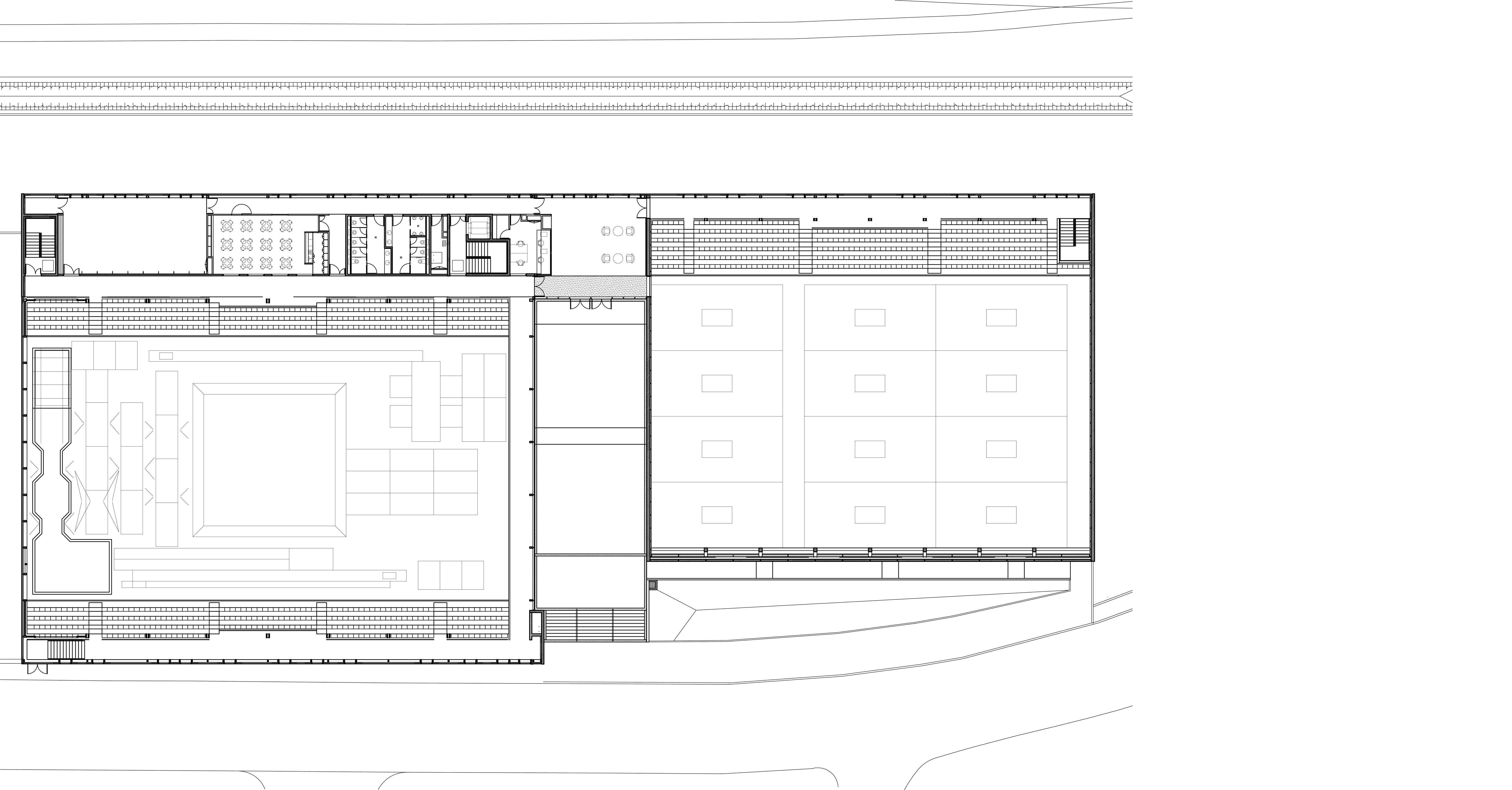 PLAN A - Salle de gymnastique et salle de tennis de table – Alençon