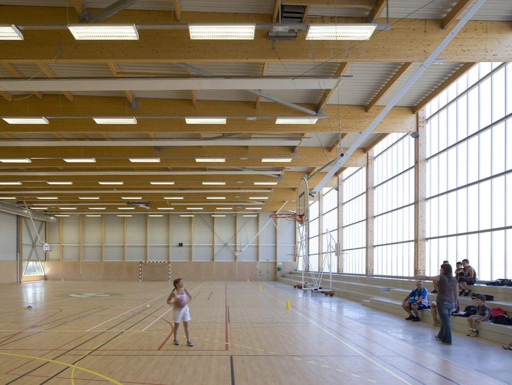 Saint manvieu 07 - Salle multisports intercommunale – Saint-Manvieu-Norrey
