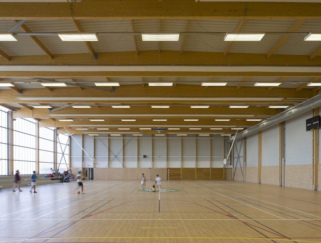 Saint manvieu 08 - Salle multisports intercommunale – Saint-Manvieu-Norrey