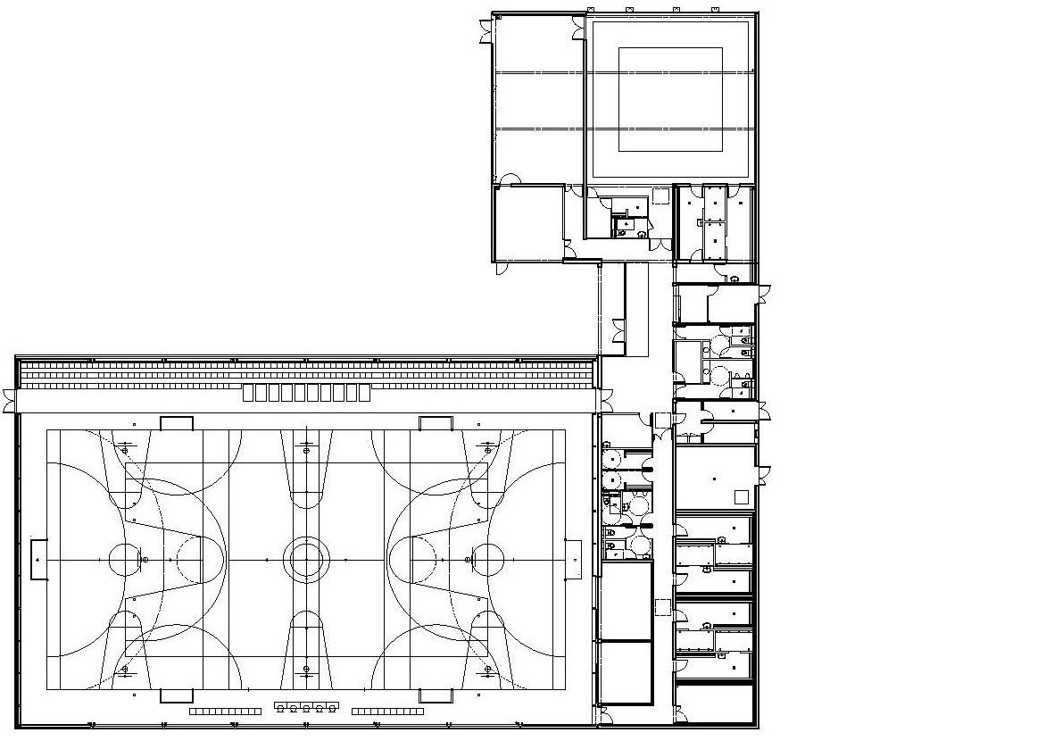 plan A - Salle multisports intercommunale – Saint-Manvieu-Norrey