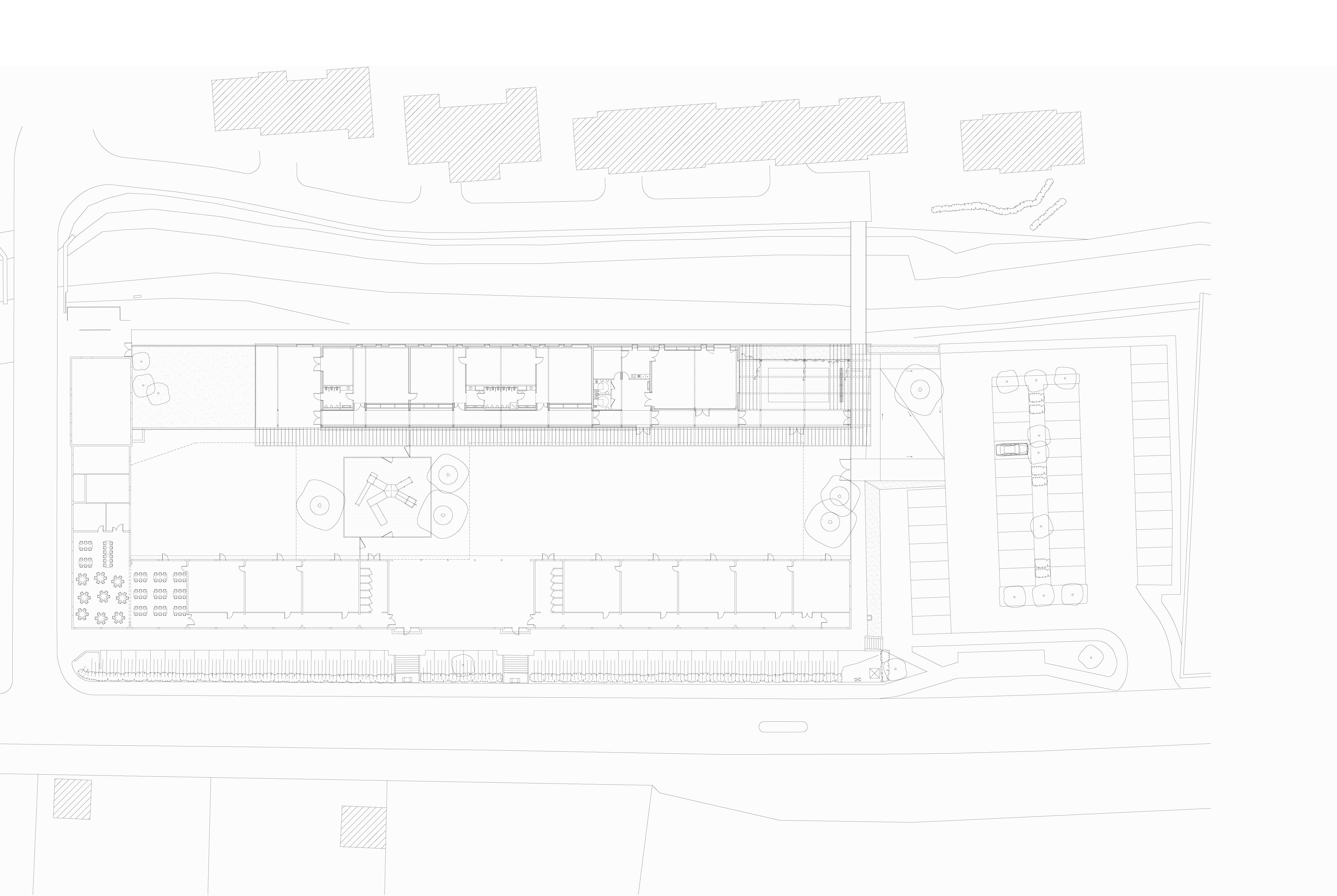plan A3 - Groupe scolaire – Saint Désir