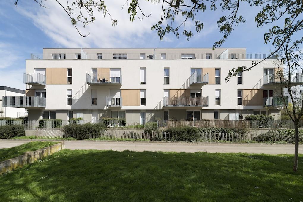 Vue 1 1 - 2 immeubles de 16 logements collectifs - Hérouville-Saint-Clair