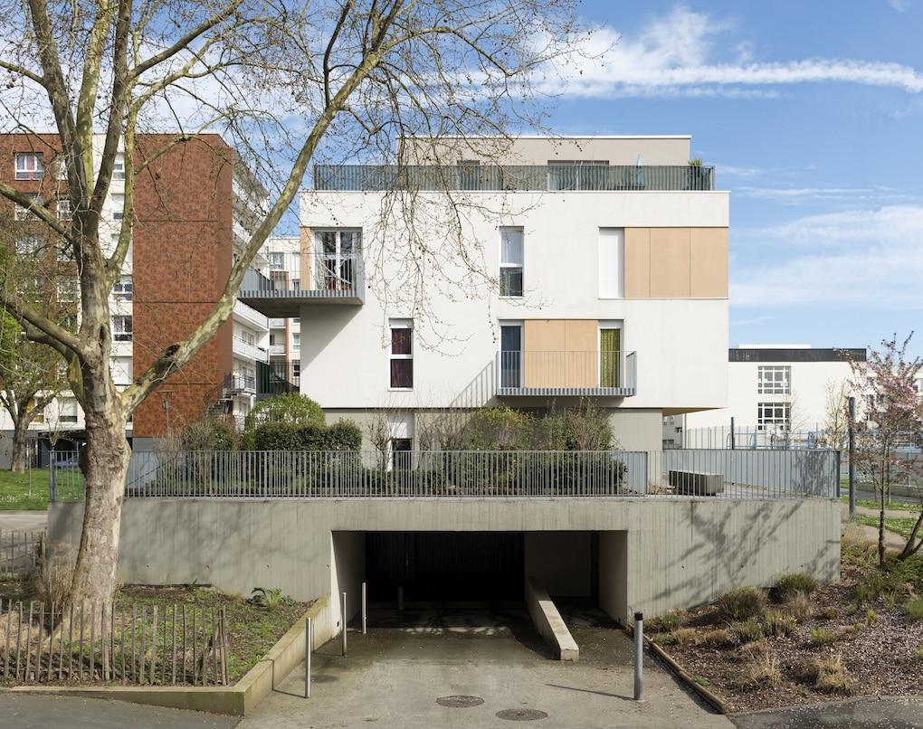 Vue 2 1 - 2 immeubles de 16 logements collectifs - Hérouville-Saint-Clair