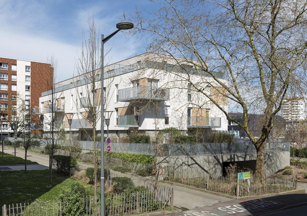 Vue 3 1 - 2 immeubles de 16 logements collectifs - Hérouville-Saint-Clair