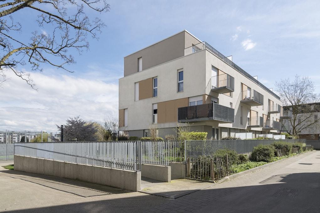 Vue 4 1 - 2 immeubles de 16 logements collectifs - Hérouville-Saint-Clair