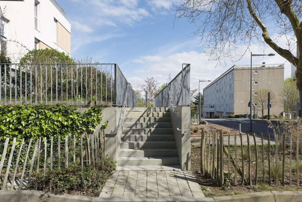Vue 5 1 - 2 immeubles de 16 logements collectifs - Hérouville-Saint-Clair