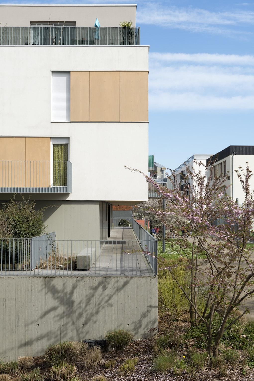 Vue 6 1 - 2 immeubles de 16 logements collectifs - Hérouville-Saint-Clair