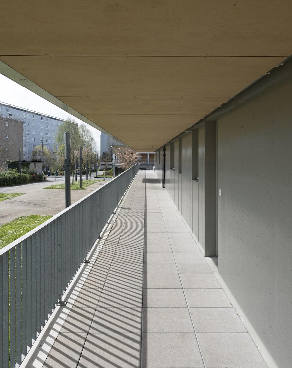 Vue 7 1 - 2 immeubles de 16 logements collectifs - Hérouville-Saint-Clair