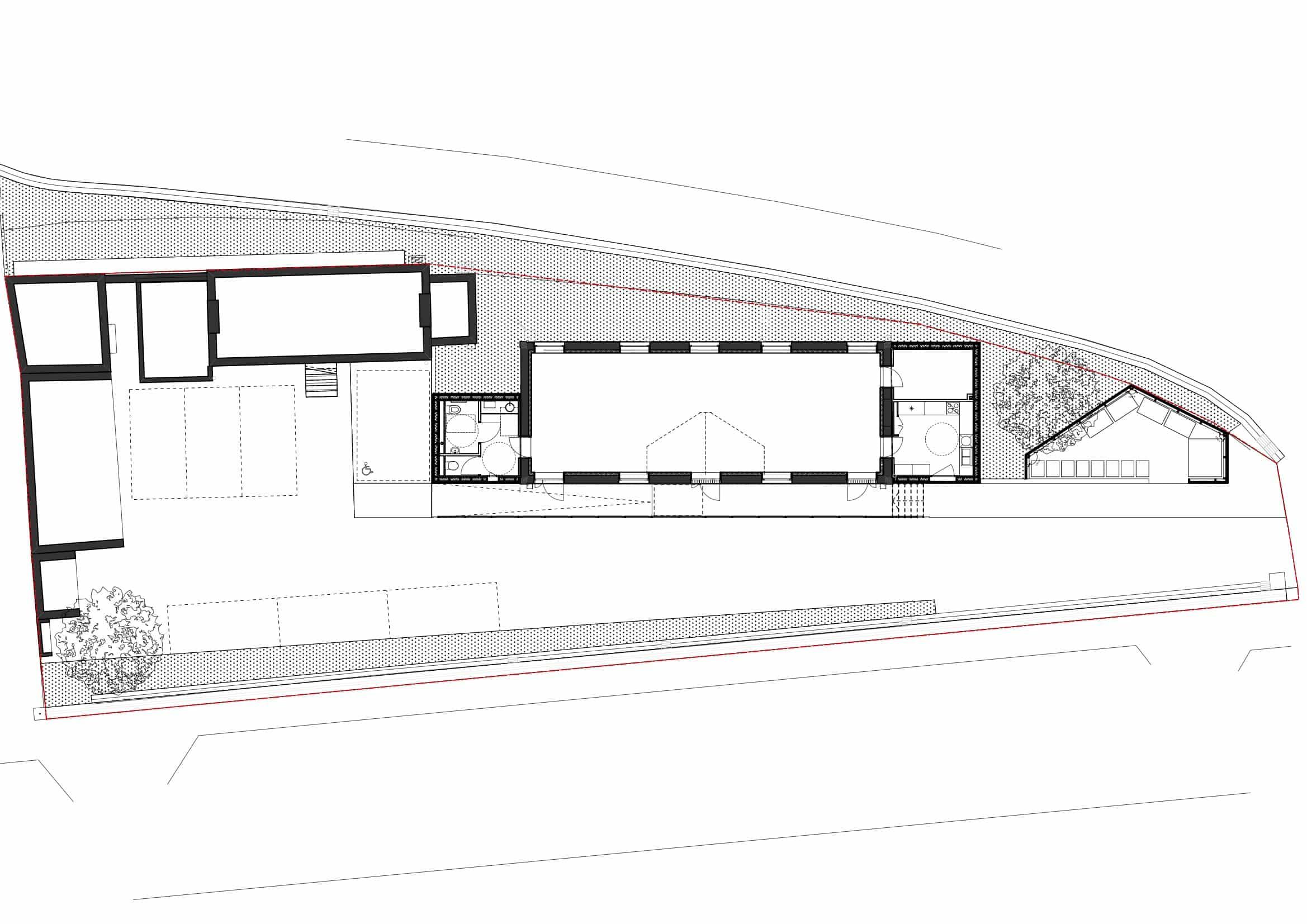 1 PLAN - Salle communale – Saint Désir
