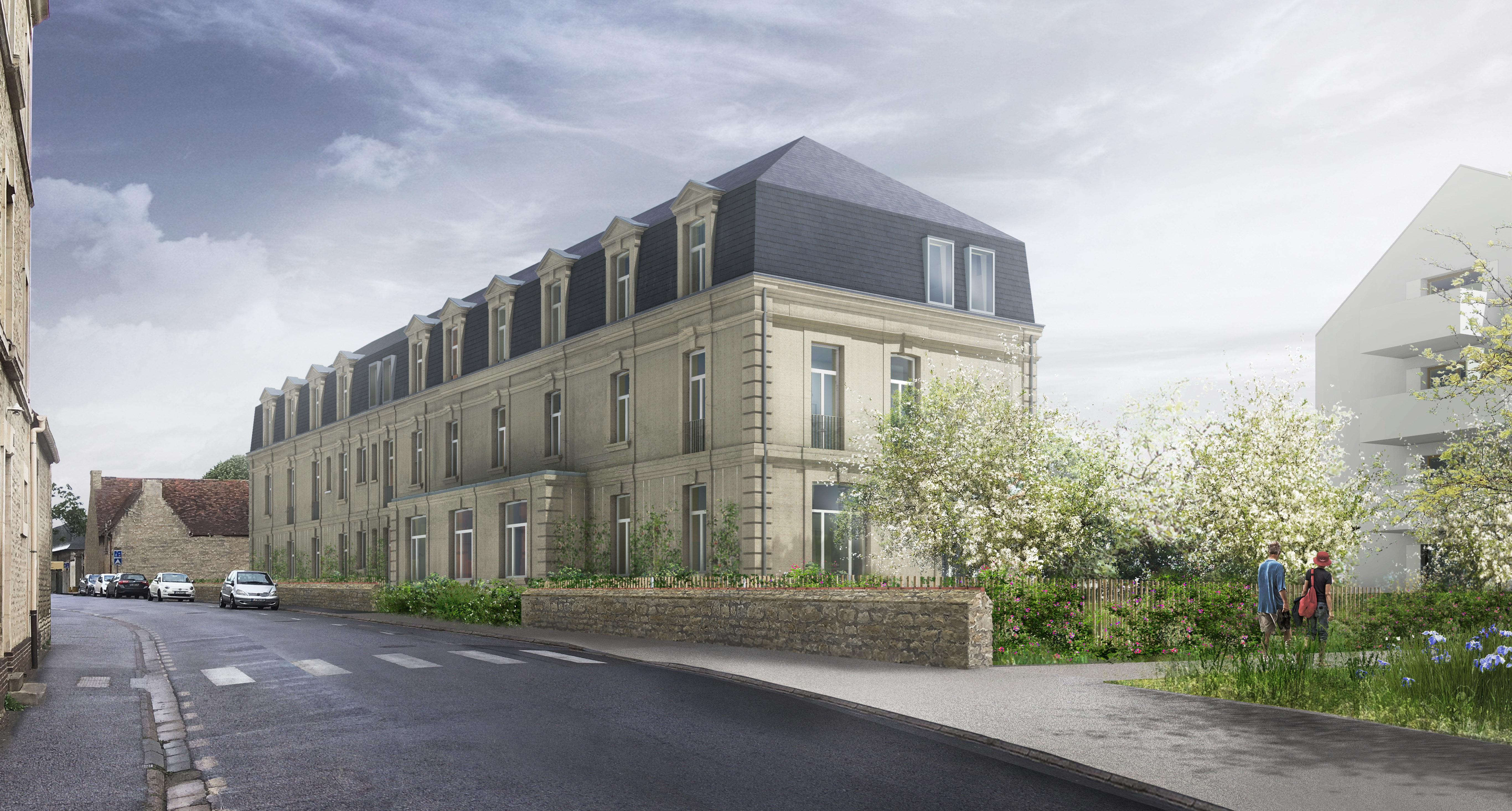 PC D1 3.10 - Logements - Lot D1 - Les grands jardins de Calix – Caen